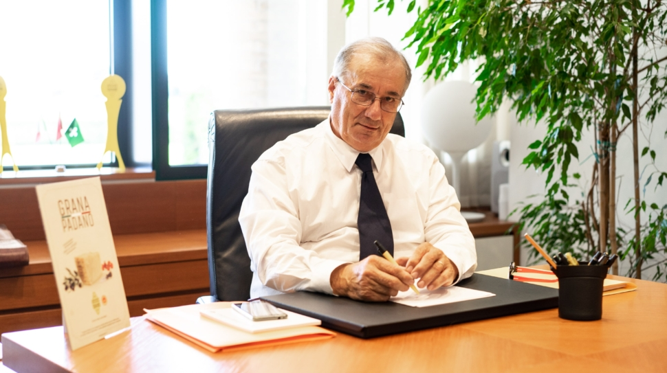 Renato zaghini presidente Grana Padano