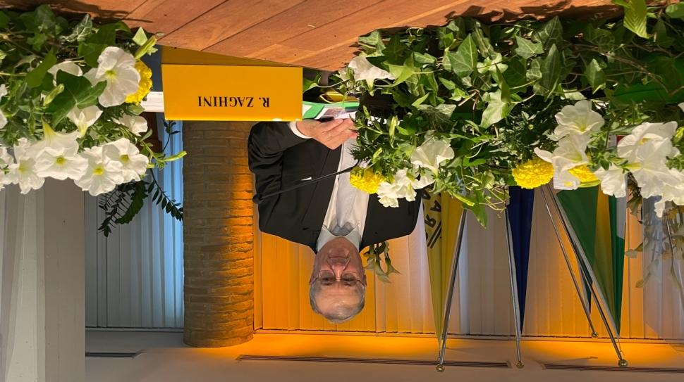 Renato Zaghini Presidente